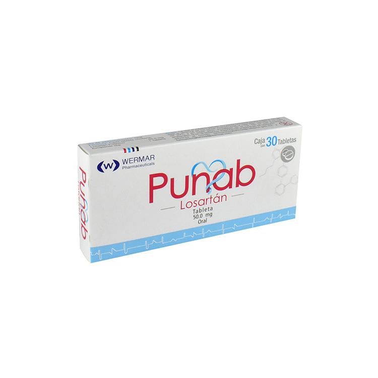 PUNAB 50MG TAB C30