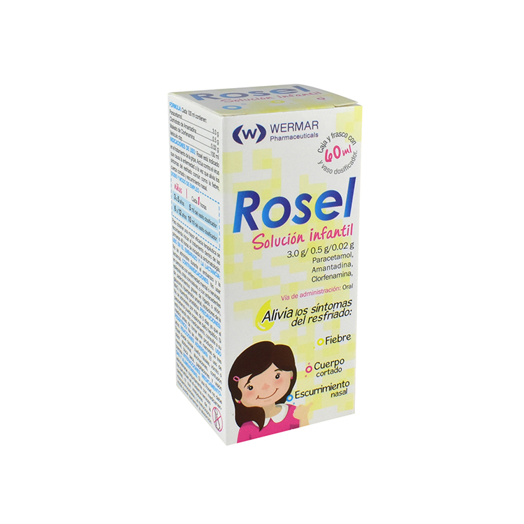 Rosel-S Infantil 0.5 Gr 1 Frasco Suspension 60 Ml