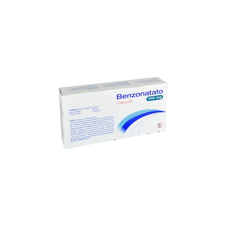 Benzonatato 100 Mg Caja 20 Capsulas