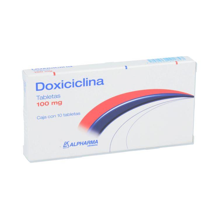 DOXICICLINA 100MG TAB C10