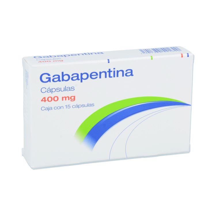 GABAPENTINA 400MG CAPS C15