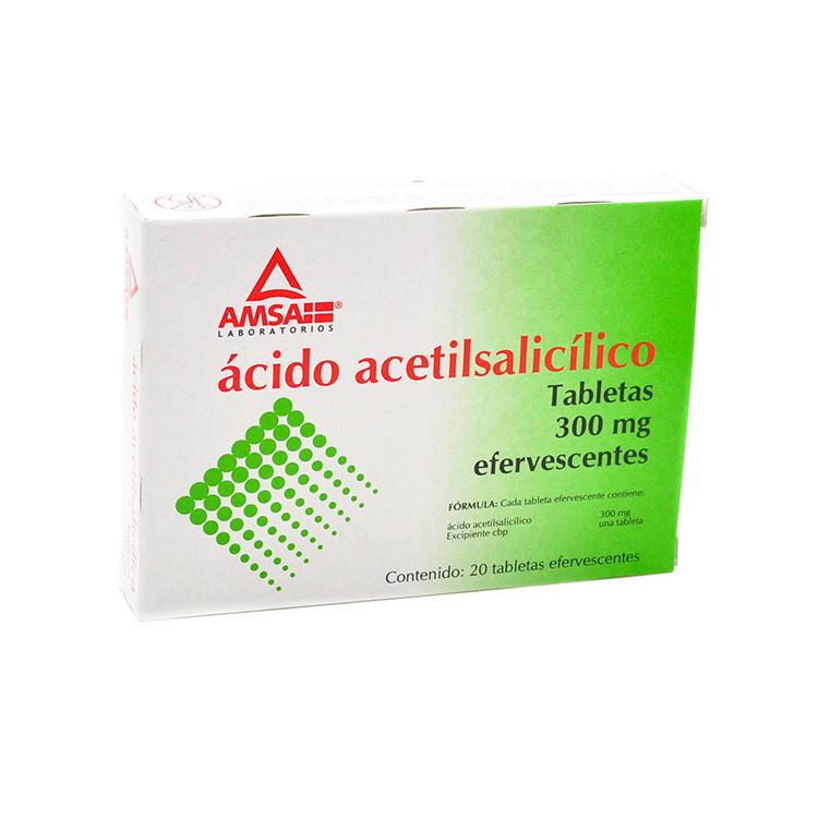 AC ACETILSAL 300MG TAB C20