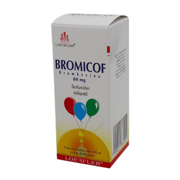 BROMICOF INF 80MG SOL 100ML