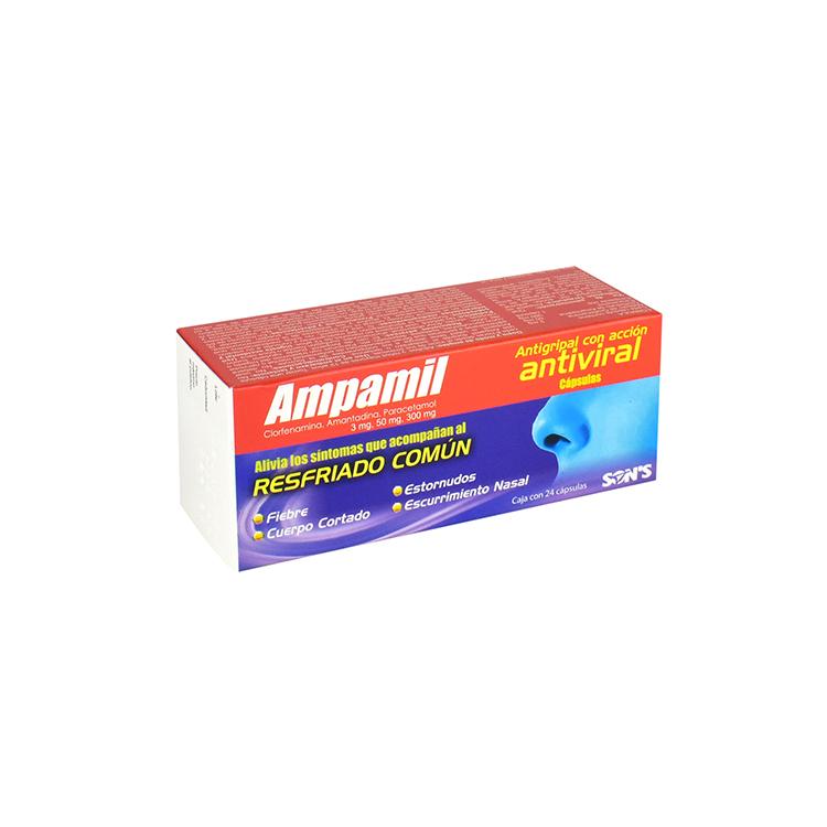 AMPAMIL 3/50/300MG CAP C24