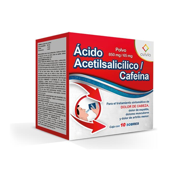 AC ACETIL/CAF 850/65MG SOB C10