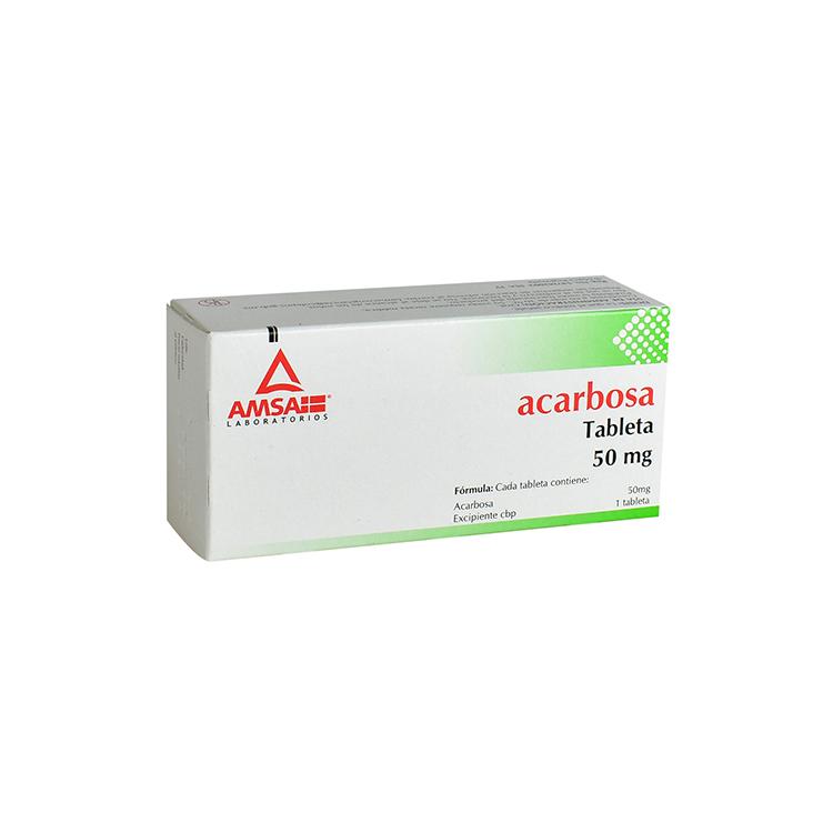 ACARBOSA 50MG TAB C30