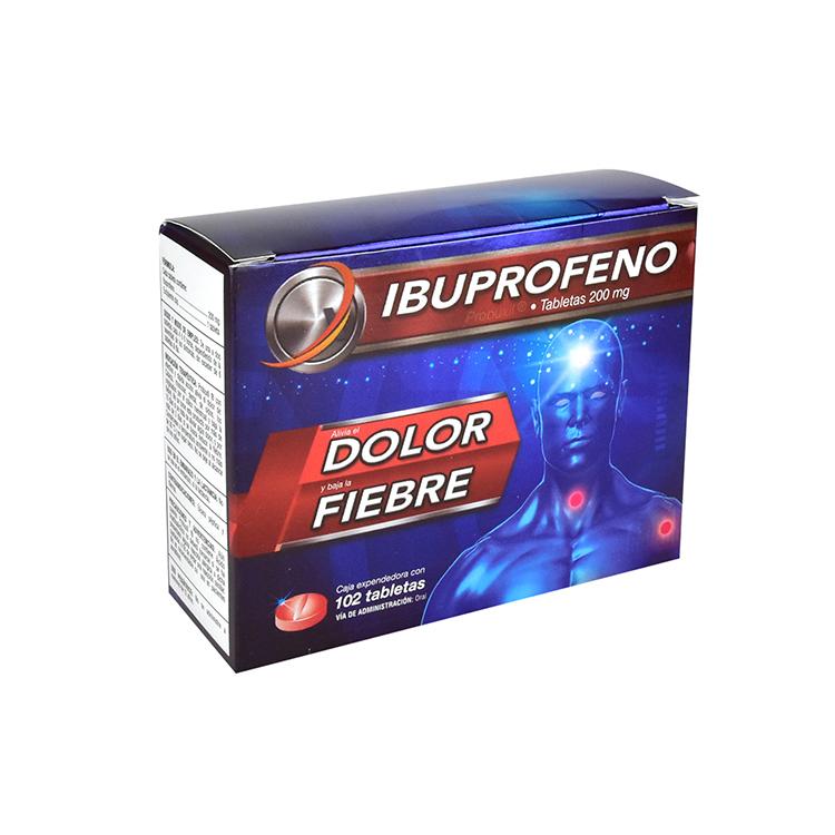 IBUPROFENO 200MG TAB C102