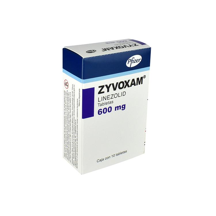 Zyvoxam 600mg Tab C10